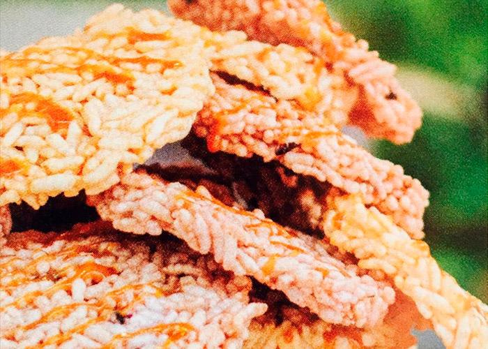 Biscoito de arroz integral